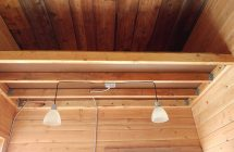 interior storage loft wiring lighting